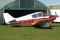G-AYDZ - Jodel DR200 at Enstone North