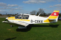 G-CEKE - Robin DR400/180 at Enstone South