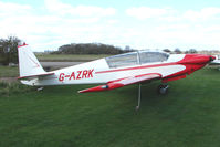 G-AZRK - Fournier RF5 at Enstone South