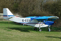 G-CCII @ EGTN - Savannah Jabiru at Enstone South