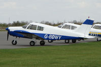 G-BDWY @ EGBT - Piper PA-28-140 at Turweston