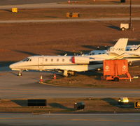 C-FWXL @ TPA - Citation 560XL in Tampa for the Superbowl - by Florida Metal