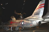 52-3863 @ FFO - 1952 North American F-86D Sabre at the USAF Museum in Dayton, Ohio. - by Bob Simmermon