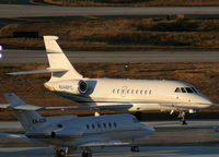 N346PC @ TPA - Falcon 2000EX in for Super Bowl