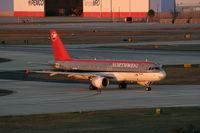 N371NW @ TPA - Northwest A320