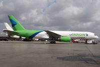 N688GX @ KMIA - Arrow Air Boeing 757-200