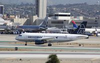 N429MX @ KLAX - Airbus A319 - by Mark Pasqualino