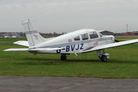 G-BVJZ @ EGCF - Piper Pa-28-161 at Sandtoft