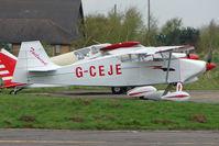G-CEJE @ EGCF - Wittman Tailwind at Sandtoft