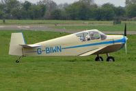G-BIWN @ EGCF - Jodel D112 at Sandtoft