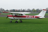 G-AWLA @ EGCS - Sturgate visitor from Bagby