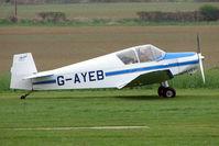 G-AYEB @ EGNF - Jodel D112 at Netherthorpe