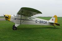 G-BROR @ EGCS - 1943 Piper Cub at Sturgate