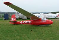 G-CGEG - Darlton Gliding Club - by Terry Fletcher