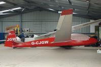 G-CJGW - Darlton Gliding Club - by Terry Fletcher