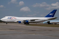 J2-KCV @ KOPF - Air Plus Comet Boeing 747-200