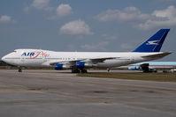 J2-KCV @ KOPF - Air Plus Comet Boeing 747-200