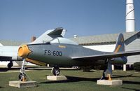 46-600 @ SKF - F-84B Thunderjet in the USAF History & Traditions Museum at Lackland AFB in 1978. - by Peter Nicholson