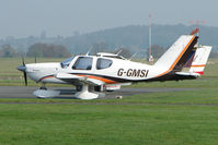 G-GMSI @ EGBO - Socata TB-9 at Wolverhampton 2009 Easter Fly-In day