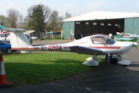 G-OBDA @ EGBO - Diamond DA20 at Wolverhampton 2009 Easter Fly-In day