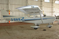G-BAVB @ EGBO - Cessna F172M at Wolverhampton 2009 Easter Fly-In day