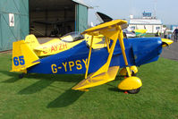 G-YPSY @ EGBO - Andreasson  BA4B at Wolverhampton 2009 Easter Fly-In day