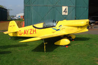 G-AYZH @ EGBO - Taylor Titch at Wolverhampton 2009 Easter Fly-In day