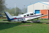 G-LACD @ EGBO - Piper Pa-28-181 at Wolverhampton 2009 Easter Fly-In day