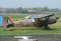 OY-EFI @ EGBO - 1945 Danish Registered Auster at Wolverhampton 2009 Easter Fly-In day
