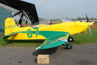 G-ASUS @ EGBO - Jurca Tempete at Wolverhampton 2009 Easter Fly-In day