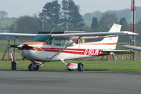 G-BUJN @ EGBO - Cessna 172N at Wolverhampton 2009 Easter Fly-In day