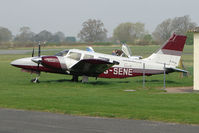 G-SENE @ EGBO - Piper Pa-34-200T at Wolverhampton 2009 Easter Fly-In day