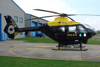 G-CCAU @ EGBO - Police Helicopter based at Wolverhampton 2009 Easter Fly-In day