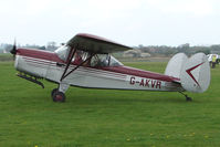 G-AKVR @ EGBO - Chrislea Super Ace SkyJeep at Wolverhampton 2009 Easter Fly-In day