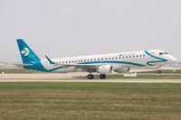 I-ADJN @ EDDF - Air Dolomiti ERJ-190 rotates @ RW18W