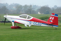 G-CCZD @ EGBO - Vans RV-7 at Wolverhampton 2009 Easter Fly-In day