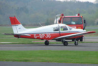 G-BPJU @ EGBO - Piper PA-28-161 at Wolverhampton 2009 Easter Fly-In day