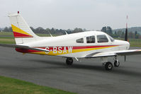 G-BSAW @ EGBO - Piper PA-28-161 at Wolverhampton 2009 Easter Fly-In day