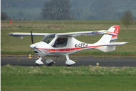 G-CFFJ @ EGBO - Ikarus at Wolverhampton 2009 Easter Fly-In day