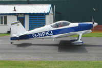 G-NPKJ @ EGBO - Vans RV-6 at Wolverhampton 2009 Easter Fly-In day