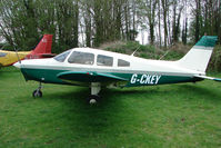 G-CKEY @ EGBO - Piper PA-28-161 at Wolverhampton 2009 Easter Fly-In day