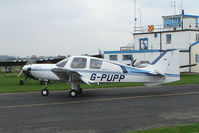 G-PUPP @ EGBO - Beagle B121 Series 2 at Wolverhampton 2009 Easter Fly-In day