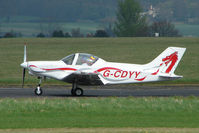 G-CDYY @ EGBO - A patently Welsh Pioneer 300 at Wolverhampton 2009 Easter Fly-In day
