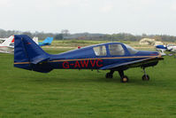 G-AWVC @ EGBO - Beagle B121 Series 1 at Wolverhampton 2009 Easter Fly-In day