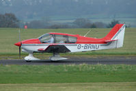 G-BRNU @ EGBO - Robin DR400 at Wolverhampton 2009 Easter Fly-In day