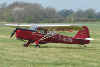 G-AGXN @ EGBO - 1946 Auster at Wolverhampton 2009 Easter Fly-In day