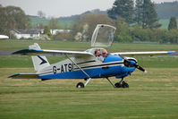 G-ATSI @ EGBO - Bolkow Junior at Wolverhampton 2009 Easter Fly-In day