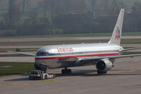 N346AN @ ZRH - Boeing 767-323