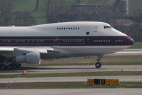 VP-BAT @ ZRH - Boeing 747-21SP
