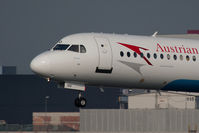OE-LVO @ VIE - Fokker 100